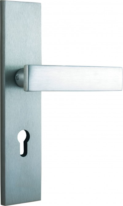 Complementary products – Accessories for doors AGATE titan with lever handle