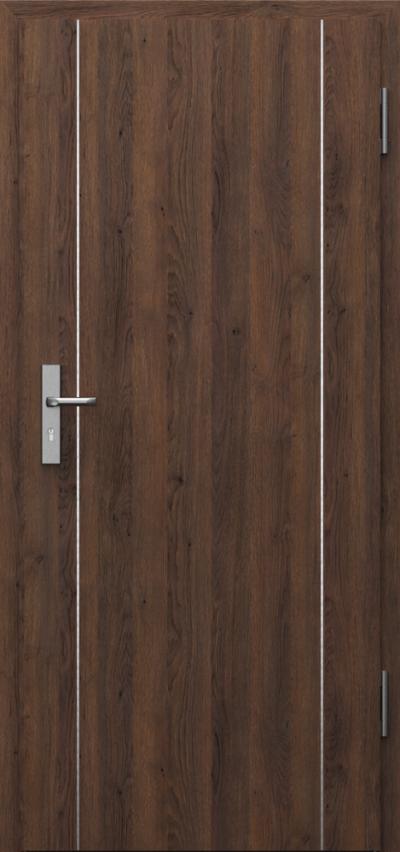 Drzwi techniczne INNOVO 37dB Intarsje 1