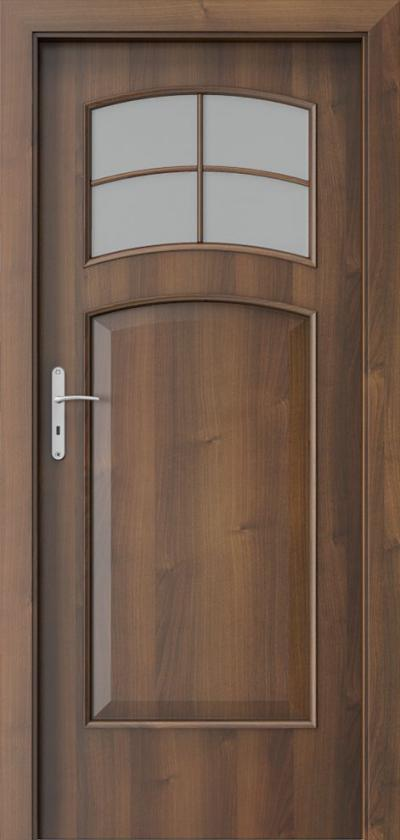 Interior doors Porta NOVA 6.5 Portadecor veneer *** Walnut
