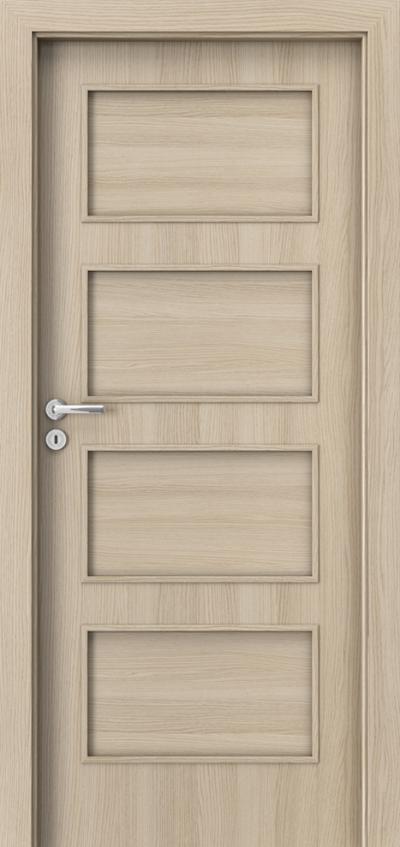 Interior doors Porta FIT H.0 CPL HQ 0.2 veneer ***** Oak Milano 1