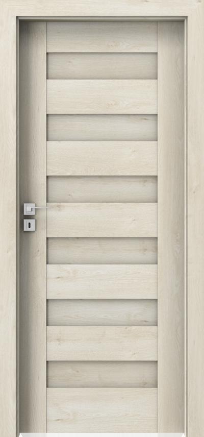 Drzwi wewnętrzne Porta KONCEPT C.0 Okleina Portaperfect 3D **** Dąb Skandynawski