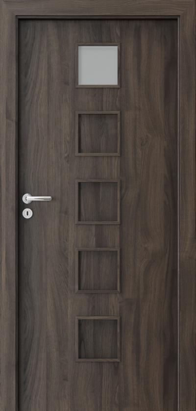 Interior doors Porta FIT B.1 Portasynchro 3D veneer *** Dark Oak