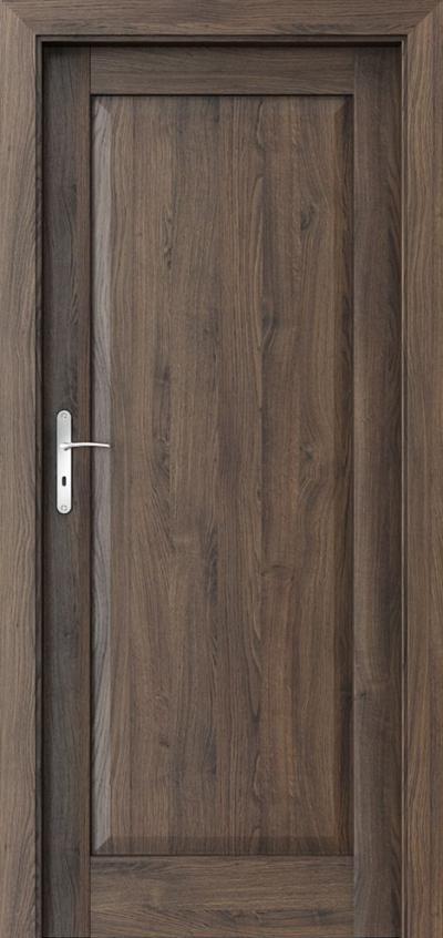 Interior doors Porta BALANCE B.0 Portasynchro 3D veneer *** Scarlet Oak