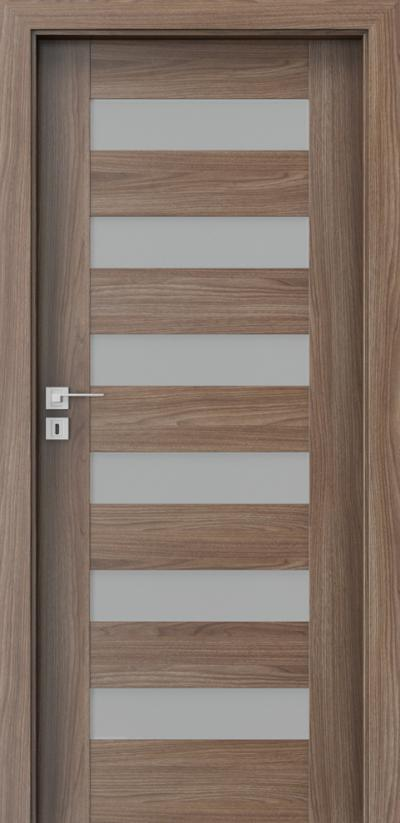 Interior doors Porta CONCEPT C.6 Portadecor veneer *** Walnut Verona 2