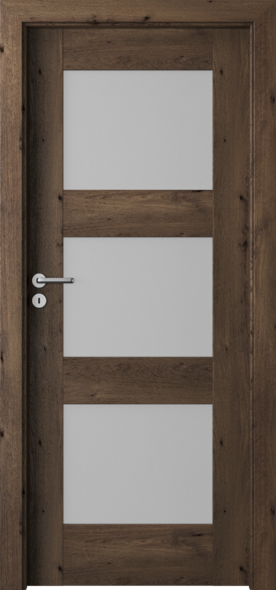 Drzwi wewnętrzne  Porta VERTE PREMIUM, B B.3 Okleina Portaperfect 3D **** Dąb Południowy