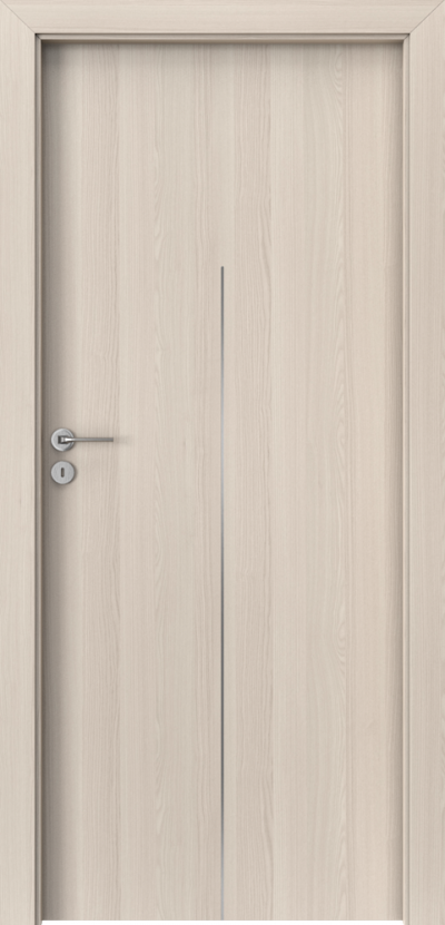 Drzwi wewnętrzne Porta LINE H.1 Okleina Portadecor *** Orzech Bielony