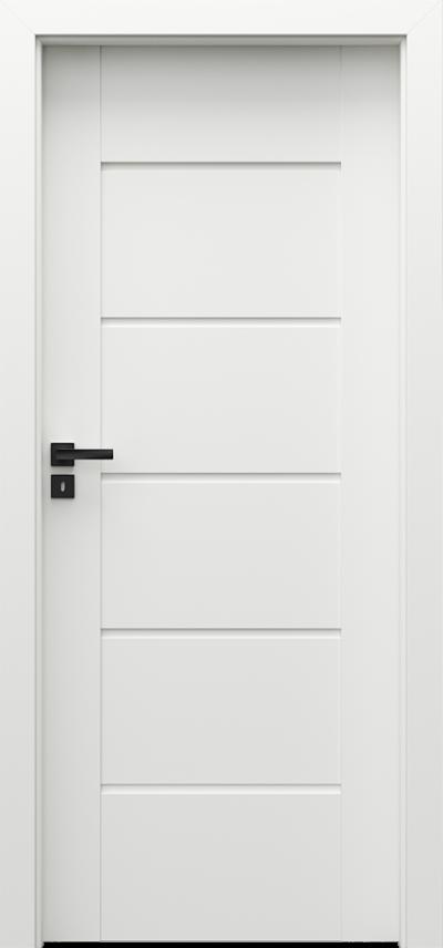Drzwi Porta VERTE PREMIUM, E E.5 Okleina Premium **** Biały Premium - PORTA DRZWI