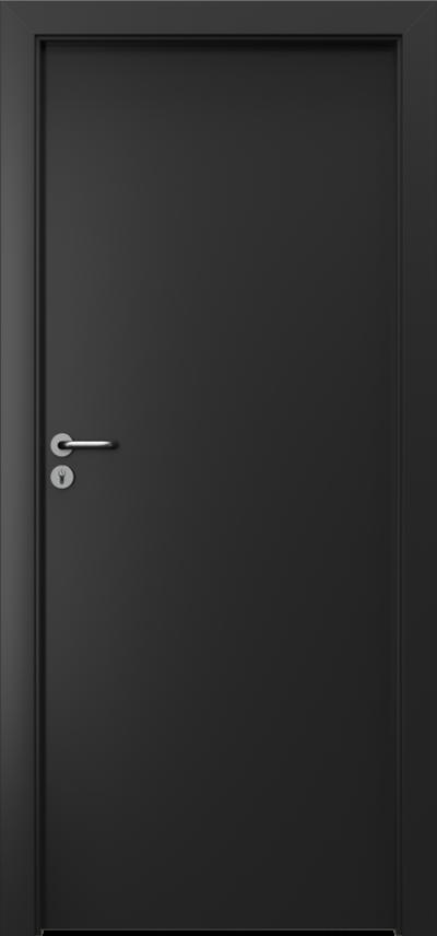 Drzwi wewnętrzne Porta CPL 1.1 Okleina CPL HQ 0,2 ***** Czarny