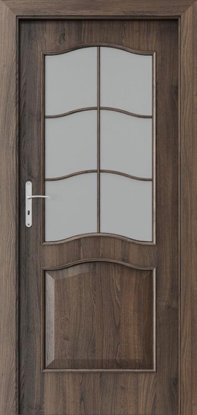 Drzwi wewnętrzne Porta NOVA 7.2 Okleina Portasynchro 3D *** Dąb Szkarłatny