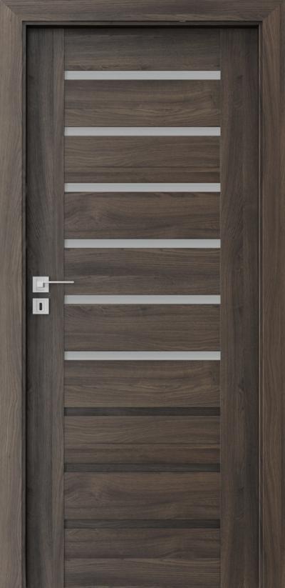 Drzwi wewnętrzne Porta KONCEPT A.6 Okleina Portasynchro 3D *** Dąb Ciemny
