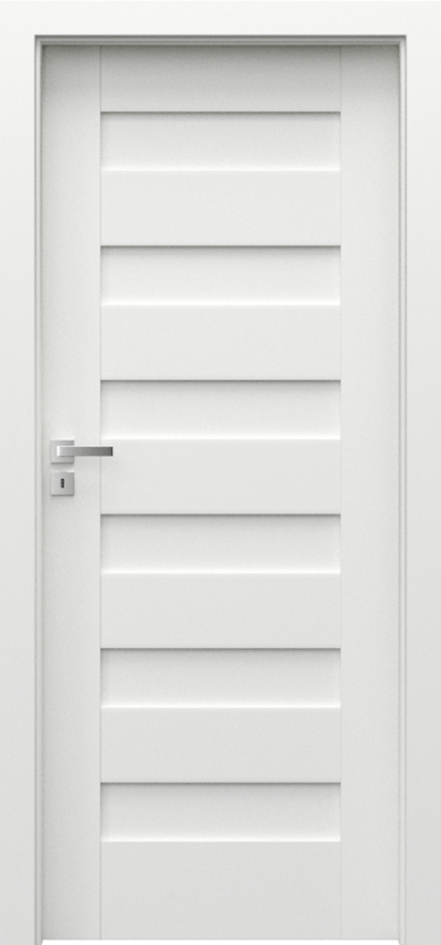 Interior doors Porta CONCEPT  Premium Varnish **** White