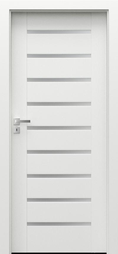 Innenraumtüren Porta CONCEPT  Acrylfarbe Premium **** Weiß