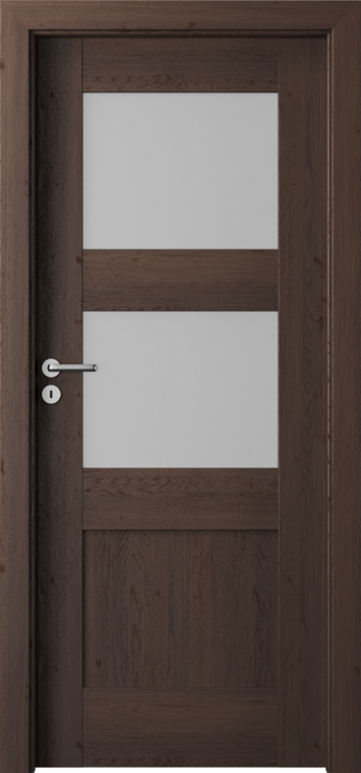 Drzwi wewnętrzne  Porta VERTE PREMIUM, B B.2 Okleina Portaperfect 3D **** Dąb Hawana