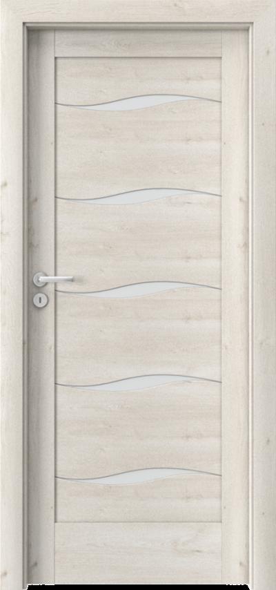 Drzwi wewnętrzne Porta VERTE HOME, E-F F.5 Okleina Portaperfect 3D **** Dąb Skandynawski