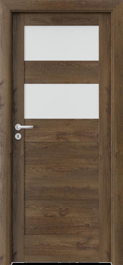 Drzwi wewnętrzne Porta VERTE HOME, L L.2 Okleina Portaperfect 3D **** Dąb Południowy