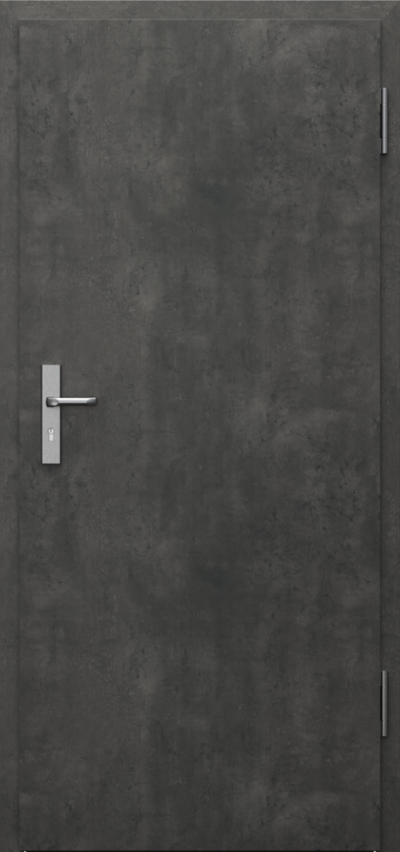 Technical doors INNOVO 37 dB  CPL HQ 0,7 laminate ****** Concrete dark