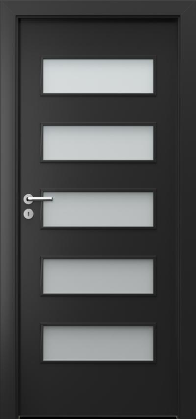Drzwi wewnętrzne Porta FIT G.5 Okleina CPL HQ 0,2 ***** Czarny