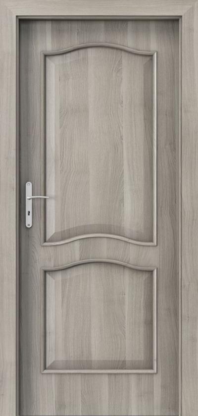 Drzwi wewnętrzne Porta NOVA 7.1 Okleina Portasynchro 3D *** Akacja Srebrna