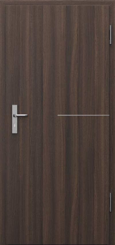Drzwi techniczne INNOVO 42dB Intarsje 8