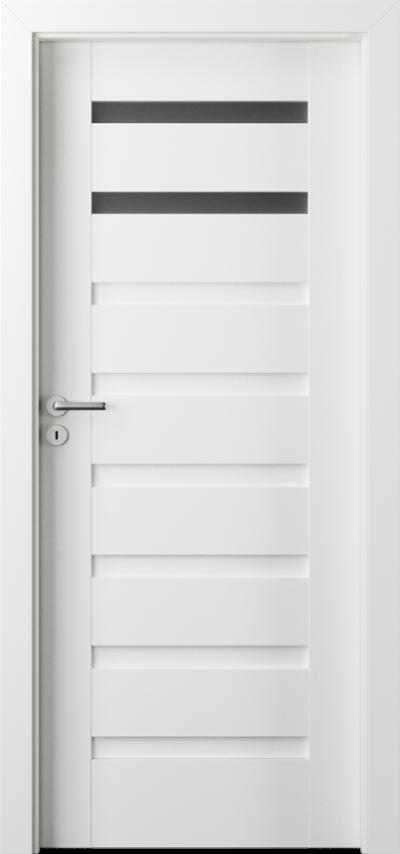 Drzwi wewnętrzne Porta VERTE PREMIUM, D D.2 Okleina Premium **** Biały Premium