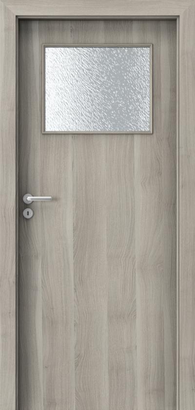 Drzwi wewnętrzne Porta DECOR M Okleina Portasynchro 3D *** Akacja Srebrna