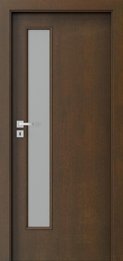 Interior doors  1.4 Natural satin veneer **** Mocca