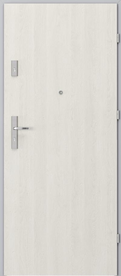 Podobne produkty                                  Drzwi wejściowe do mieszkania                                  AGAT Plus pełne - pionowy układ okleiny