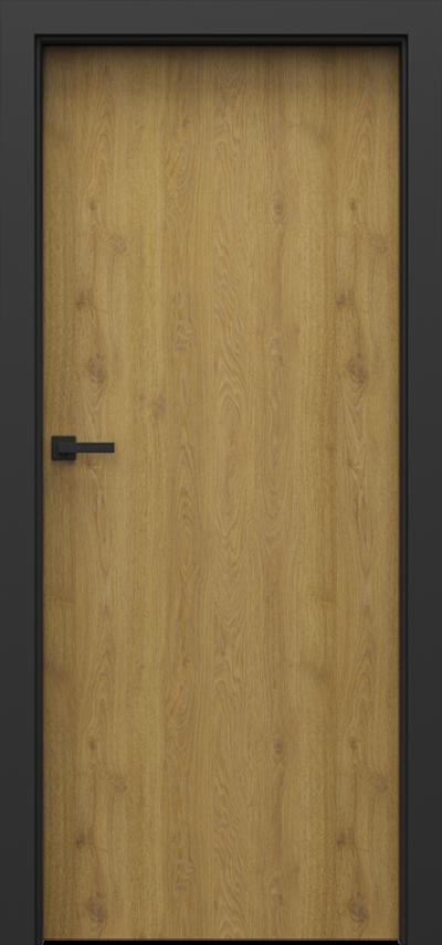 Drzwi wewnętrzne Porta LOFT 1.1 Okleina Portaperfect 3D **** Dąb Naturalny