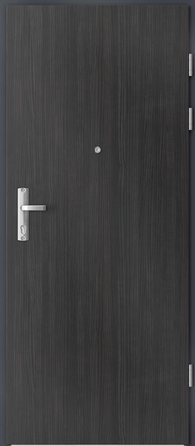 Drzwi wejściowe do mieszkania EXTREME RC3 płaskie Okleina CPL HQ 0,2 ***** Struktura ciemny
