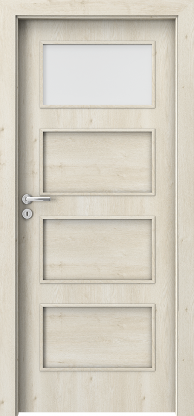 Interior doors Porta FIT H.1 Portaperfect 3D veneer **** Scandinavian Oak