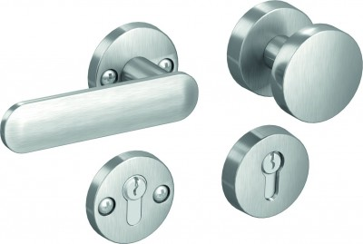 Complementary products – Accessories for doors GLOBER set with a doorknob