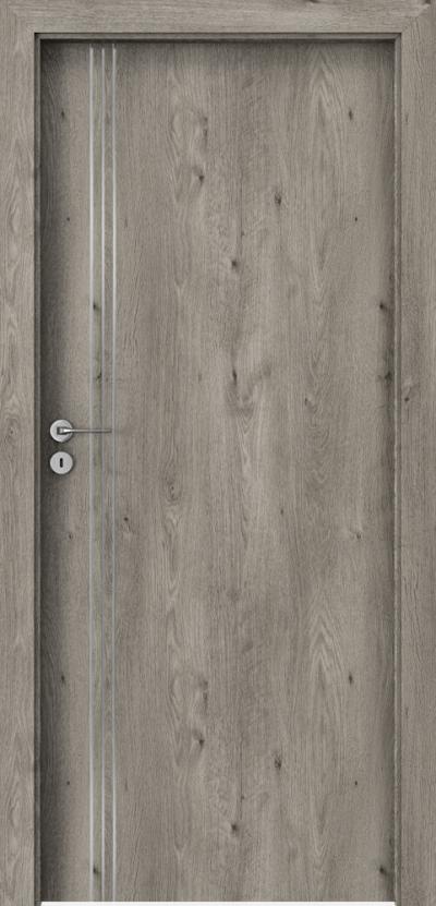 Drzwi wewnętrzne Porta LINE B.1 Okleina Portaperfect 3D **** Dąb Syberyjski