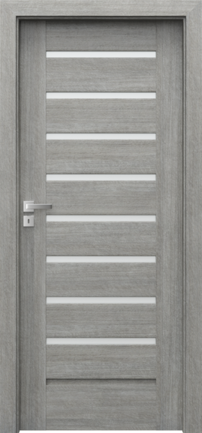 Drzwi wewnętrzne Porta KONCEPT A.8 Portalamino**** Dąb Srebrzysty