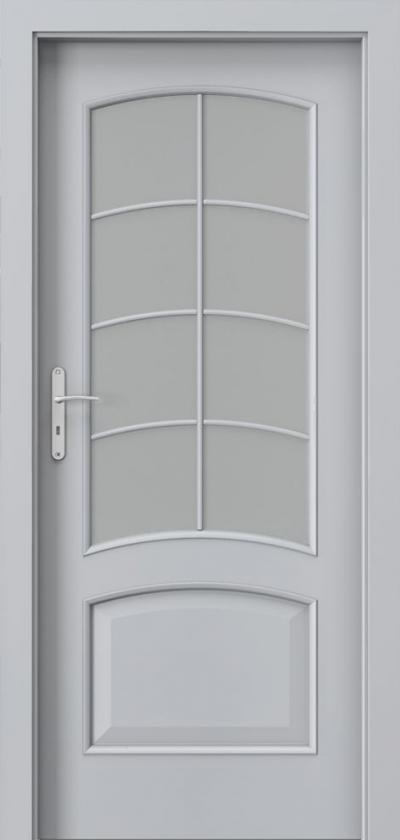 Drzwi wewnętrzne Porta NOVA 6.3 Okleina Portadecor *** Popielaty Euroinvest