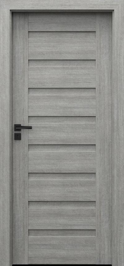 Drzwi wewnętrzne Porta VERTE PREMIUM, D D.0 Portalamino**** Dąb Srebrzysty