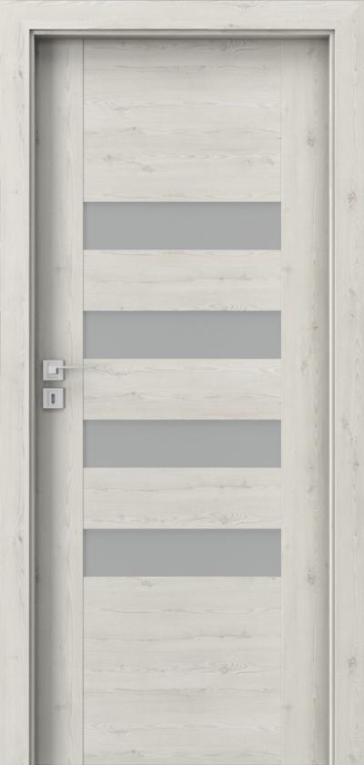 Drzwi wewnętrzne Porta KONCEPT H.4 Okleina Portasynchro 3D *** Sosna Norweska