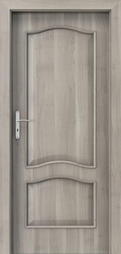 Drzwi wewnętrzne Porta NOVA 7.3 Okleina Portasynchro 3D *** Akacja Srebrna