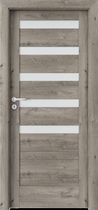 Drzwi wewnętrzne Porta VERTE HOME, D D.5 Okleina Portaperfect 3D **** Dąb Syberyjski