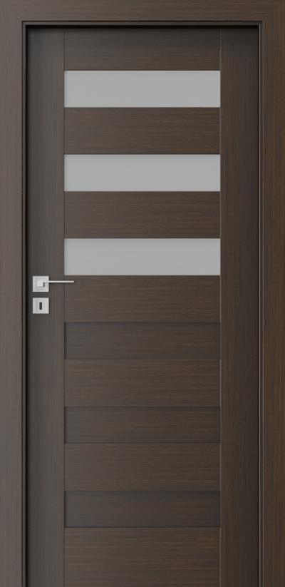 Drzwi wewnętrzne Porta KONCEPT C.3 Okleina Portadecor *** Wenge