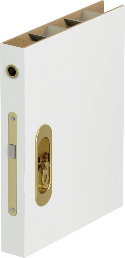 Complementary products – Accessories for doors Hook lock with side and front handles, for sliding doors