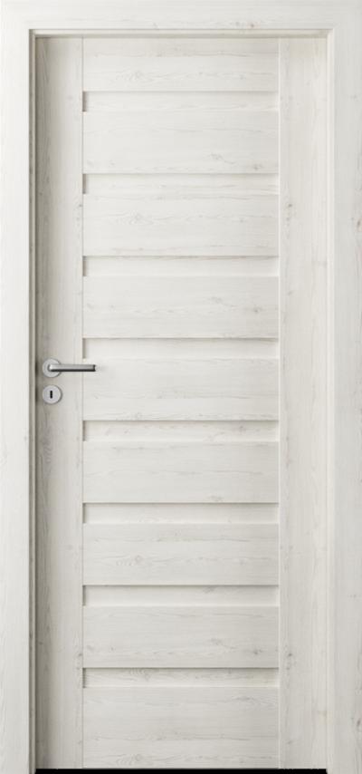 Drzwi wewnętrzne Porta VERTE PREMIUM, D D.0 Okleina Portasynchro 3D *** Sosna Norweska