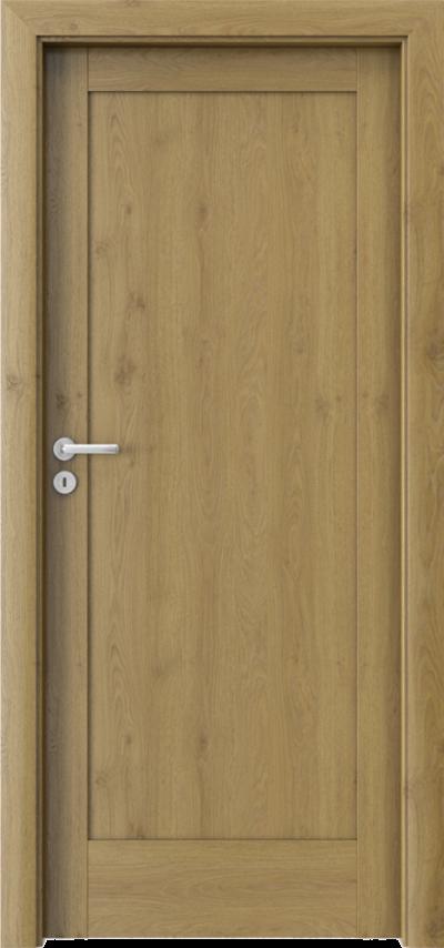 Drzwi wewnętrzne Porta VERTE HOME, E-F E.0 Okleina Portaperfect 3D **** Dąb Naturalny