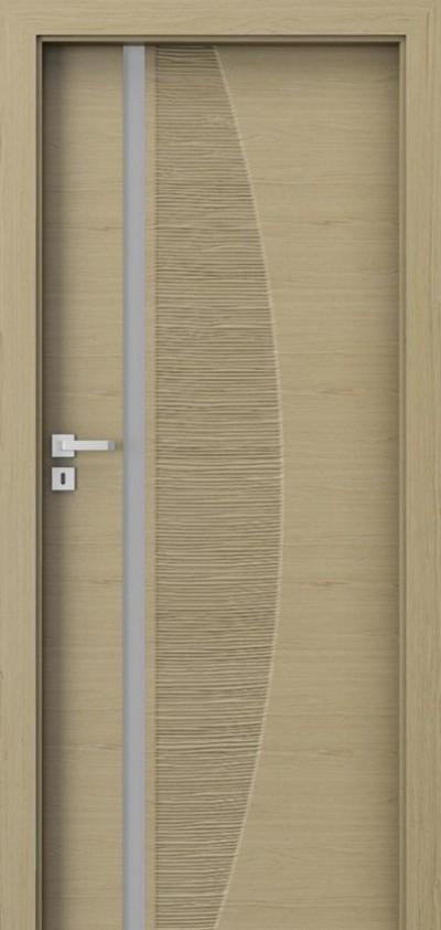 Drzwi wewnętrzne Natura IMPRESS 8 Okleina Naturalna Select **** Dąb