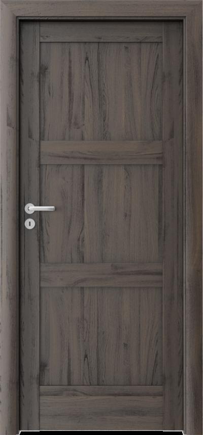 Drzwi wewnętrzne Porta VERTE HOME, N N.0 Okleina Portasynchro 3D *** Dąb Ciemny