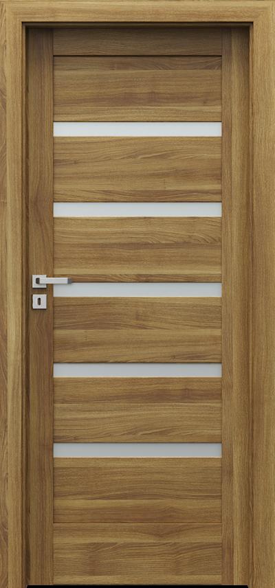 Drzwi wewnętrzne Porta VERTE HOME, H H.5 Okleina Portasynchro 3D *** Akacja Miodowa