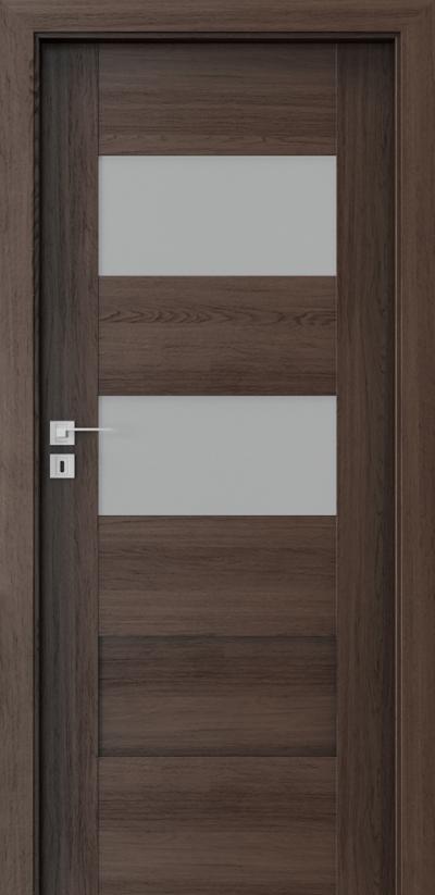 Interior doors Porta CONCEPT K.2 Portaperfect 3D veneer **** Havana Oak
