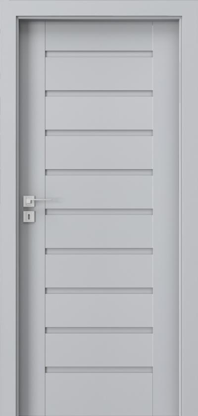 Drzwi wewnętrzne Porta KONCEPT A.0 Okleina Portadecor *** Popielaty Euroinvest