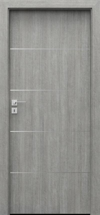 Drzwi wewnętrzne Porta LINE E.1 Portalamino**** Dąb Srebrzysty