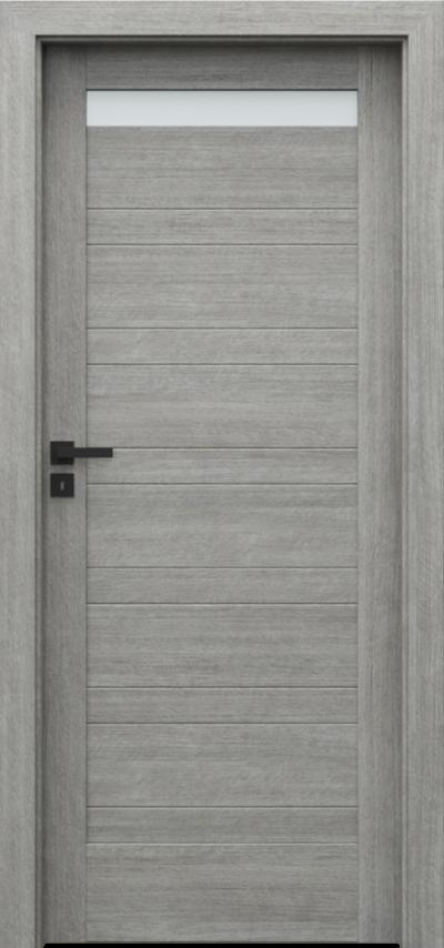 Drzwi wewnętrzne Porta VERTE HOME, D D.1 Portalamino**** Dąb Srebrzysty