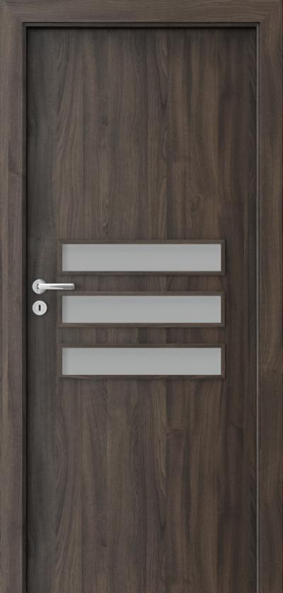 Drzwi wewnętrzne Porta FIT E.3 Okleina Portasynchro 3D *** Dąb Ciemny